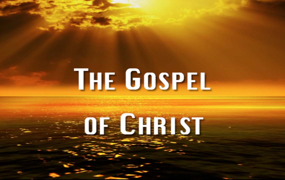 Gospel of Christ - 1 - The Task